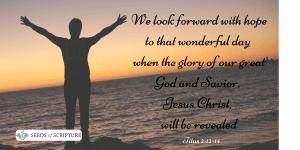 hope for God's glory