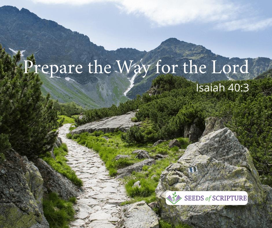 Advent prepare for Jesus second coming