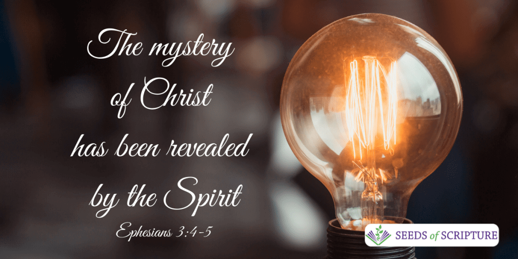christ revealed through spirit