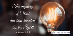christ revealed through spirit